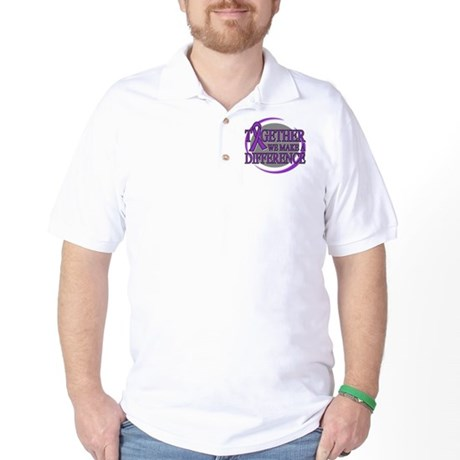 Pancreatic Cancer Support Golf Shirt