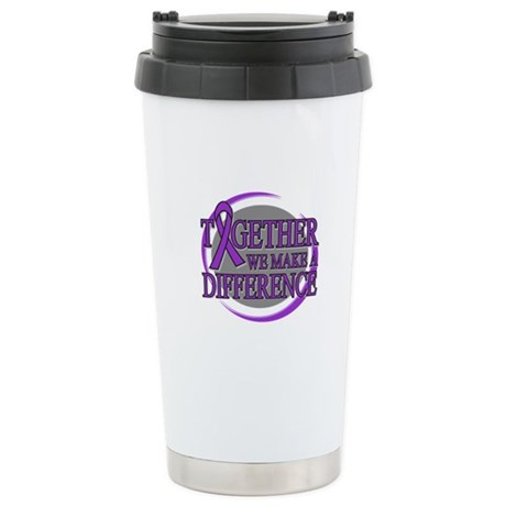 Pancreatic Cancer Support Ceramic Travel Mug
