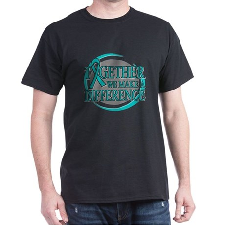 Ovarian Cancer Support Dark T-Shirt