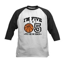 Five Year Old Basketball Tee