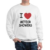 I heart meteor showers Sweatshirt