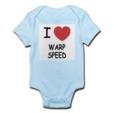 I heart warp speed Onesie