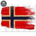 Norway Flag Puzzle