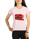 Norway Flag Performance Dry T-Shirt