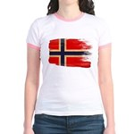 Norway Flag Jr. Ringer T-Shirt