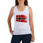 Norway Flag Women's Tank Top