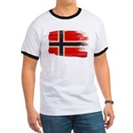 Norway Flag Ringer T
