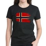 Norway Flag Women's Dark T-Shirt