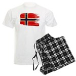 Norway Flag Men's Light Pajamas