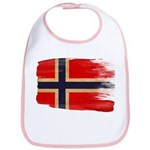 Norway Flag Bib