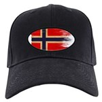 Norway Flag Black Cap