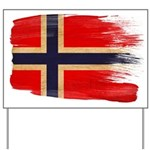 Norway Flag Yard Sign