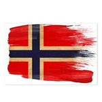 Norway Flag Postcards (Package of 8)