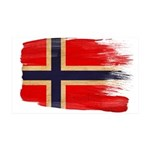 Norway Flag 38.5 x 24.5 Wall Peel