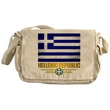 """Greek Pride"" Messenger Bag"