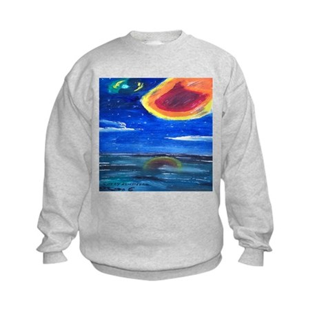 Asteroids Kids Sweatshirt