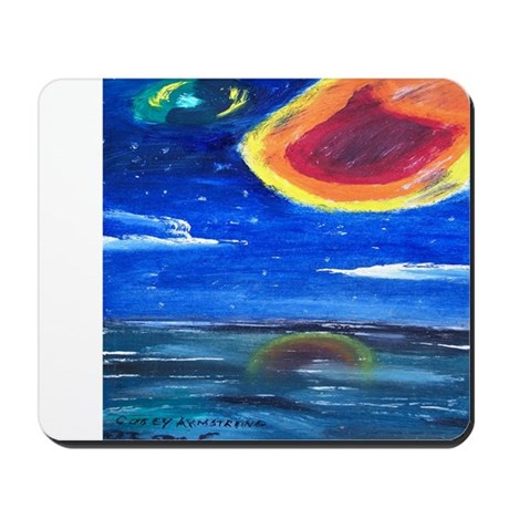 Asteroids Mousepad