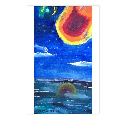 Asteroids Postcards (Package of 8)