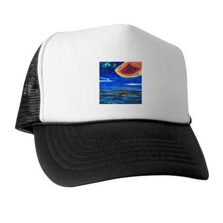 Asteroids Trucker Hat