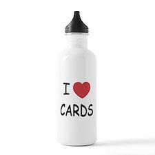 I heart cards Water Bottle