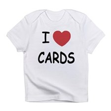 I heart cards Infant T-Shirt