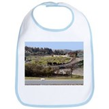 Elephant Walk Bib