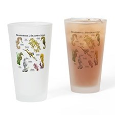 Seahorses & Seadragons Drinking Glass