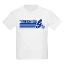 Kids Cycling This Is How I Roll T-Shirt