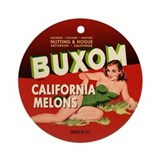 Buxom Melons Ornament (Round)