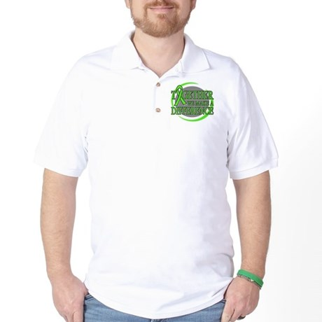 Non-Hodgkins Lymphoma Support Golf Shirt
