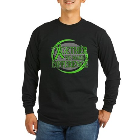 Non-Hodgkins Lymphoma Support Long Sleeve Dark T-S
