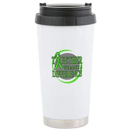 Non-Hodgkins Lymphoma Support Ceramic Travel Mug