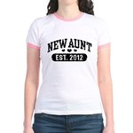 New Aunt 2012 Jr. Ringer T-Shirt