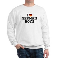 I Heart German Boys Sweatshirt