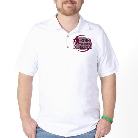 Multiple Myeloma Support Golf Shirt
