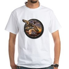 White Duck Hunting T-Shirt