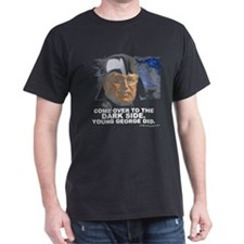 dark side Black T-Shirt