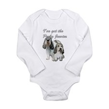 Two Pbgv's Long Sleeve Infant Bodysuit