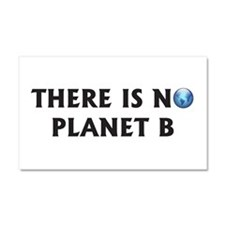 There Is No Planet B Car Magnet 20 x 12