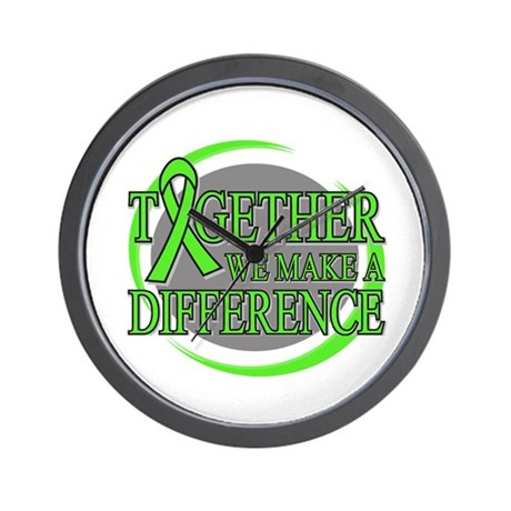 Lymphoma Support Wall Clock