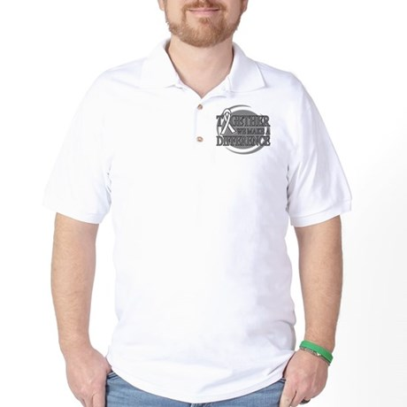 Lung Cancer Support Golf Shirt