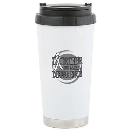 Lung Cancer Support Ceramic Travel Mug
