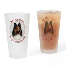 Be Our Voice Stop Animal Crue Drinking Glass