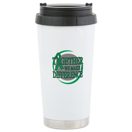 Liver Cancer Support Ceramic Travel Mug