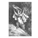 Dore's Puss in Boots Postcards (Package of 8)