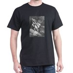 Dore's Puss in Boots Black T-Shirt
