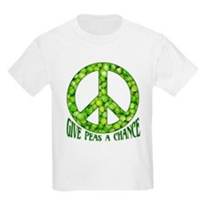 """Give Peas a Chance"" T-Shirt"