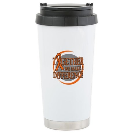 Leukemia Support Ceramic Travel Mug