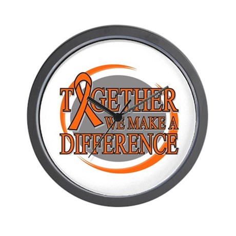 Leukemia Support Wall Clock