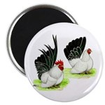"Japanese Bantams 2.25"" Magnet (100 pack)"